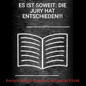 Sebastian Fitzeks #wirschreibenzuhause Charity-Anthologie